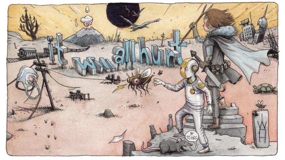 Farel Dalrymple comic books It Will All Hurt