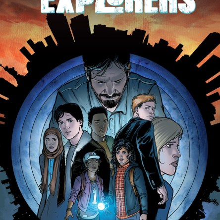 The Lost City Explorers Aftershock Comics Zack kaplan Alvaro Sarraseca comic book