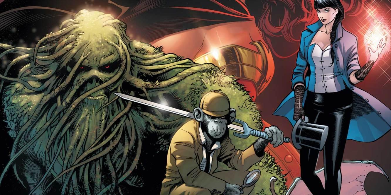 Justice League Dark #1 James T Tynion IV, Alvaro Martinez, Raul Fernandez, DC Comics