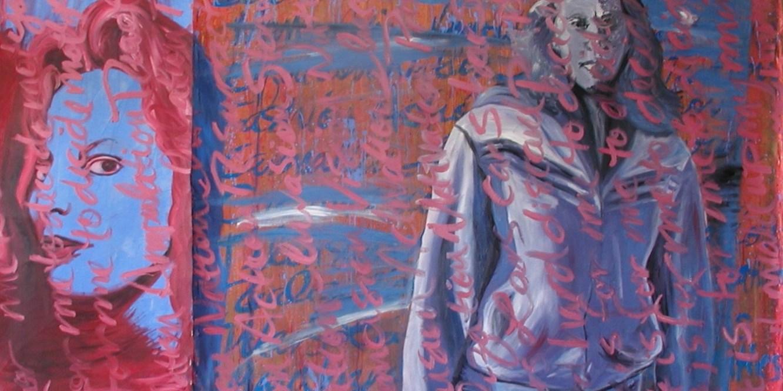 """Jailbait"" - painting by Melanie Sinclair"