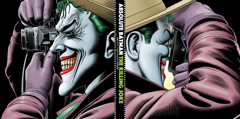 Absolute Batman The Killing Joke 30th Anniversary Alan Moore Brian Bolland DC Comics