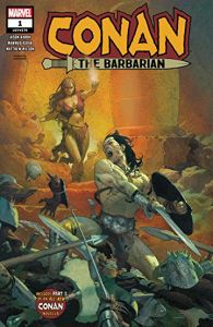 Conan, Conan the Barbarian #1, Jason Aaron, Mahmud Asrar, Marvel Comics, comic books, first issue