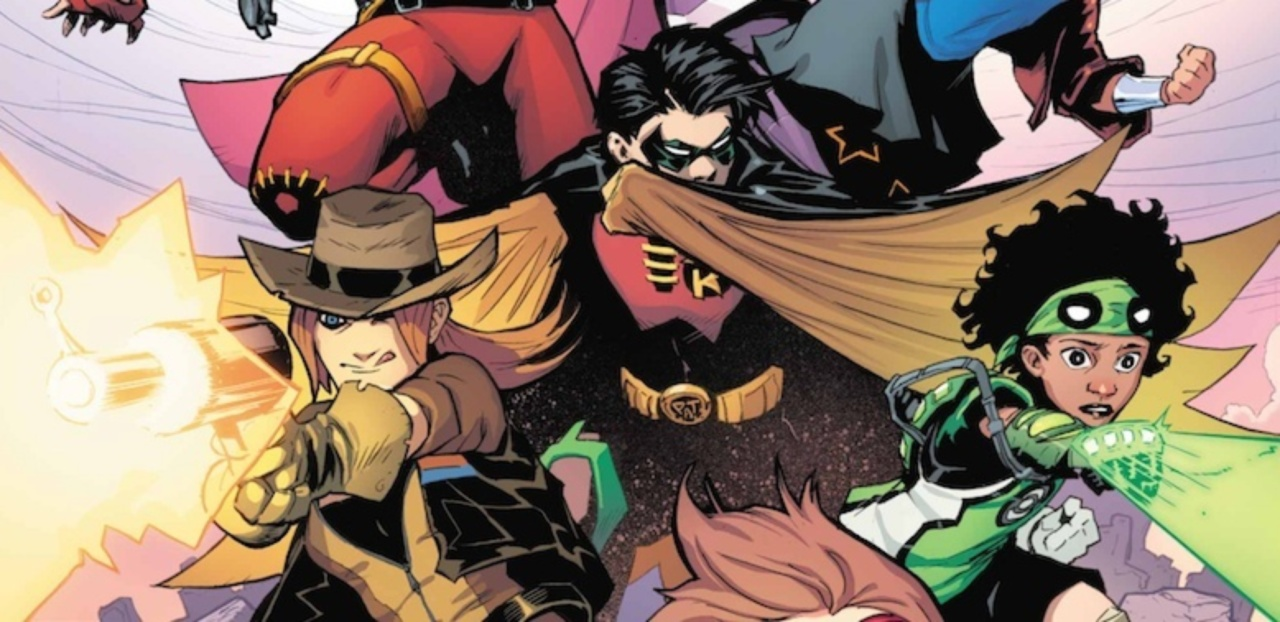Young Justice, DC Comics, Brian Michael Bendis, Patrick Gleason, comic book, first issue, Young Justice #1