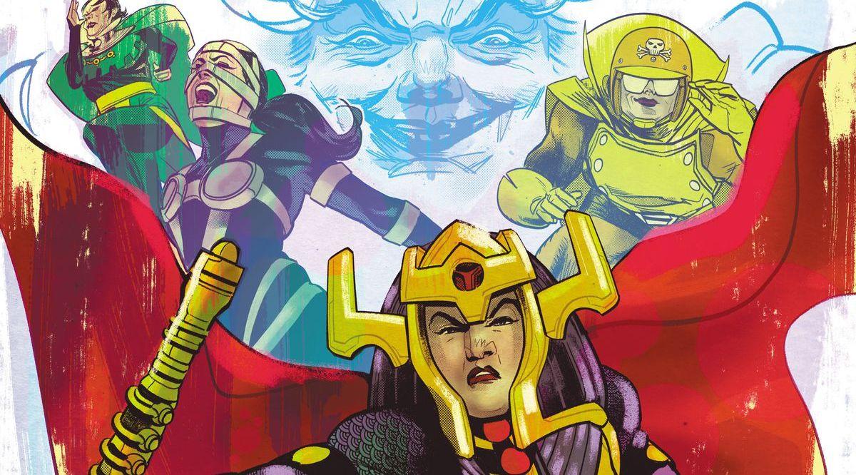 Female Furies #1, Cecil Castellucci, Adriana Melo, DC Comics, Female Furies, comic book, miniseries, first issue