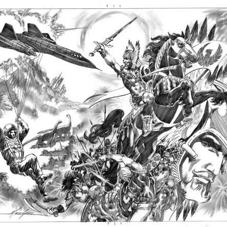 Mike Grell, Warlord, DC Comics, art