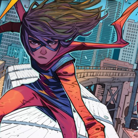 The Magnificent Ms. Marvel #1, Ms. Marvel, Saladin Ahmed, Minkyu Jung, Marvel Comics, comic book, Kamala Khan