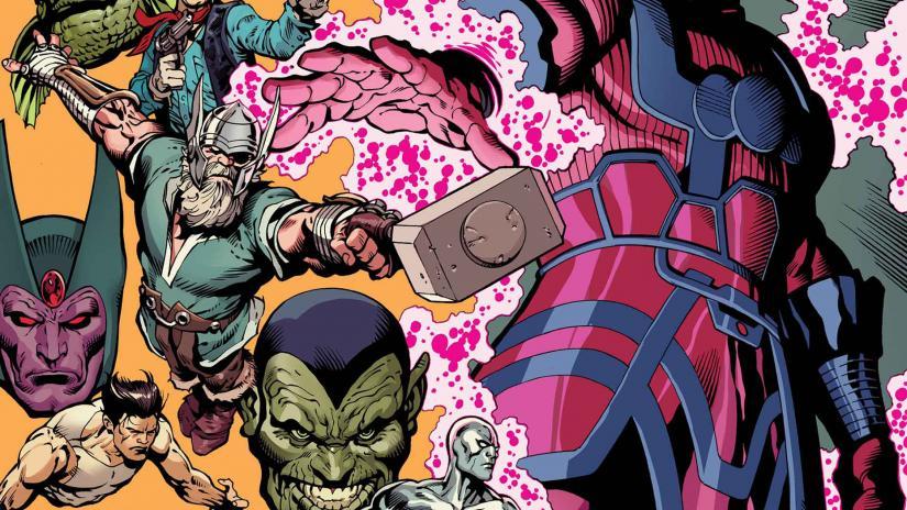 History of the Marvel Universe, Mark Waid, Javier Rodriguez, Marvel Comics, comic books, mini series