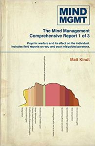 Mind MGMT, Dark Horse Comics, Matt Kindt