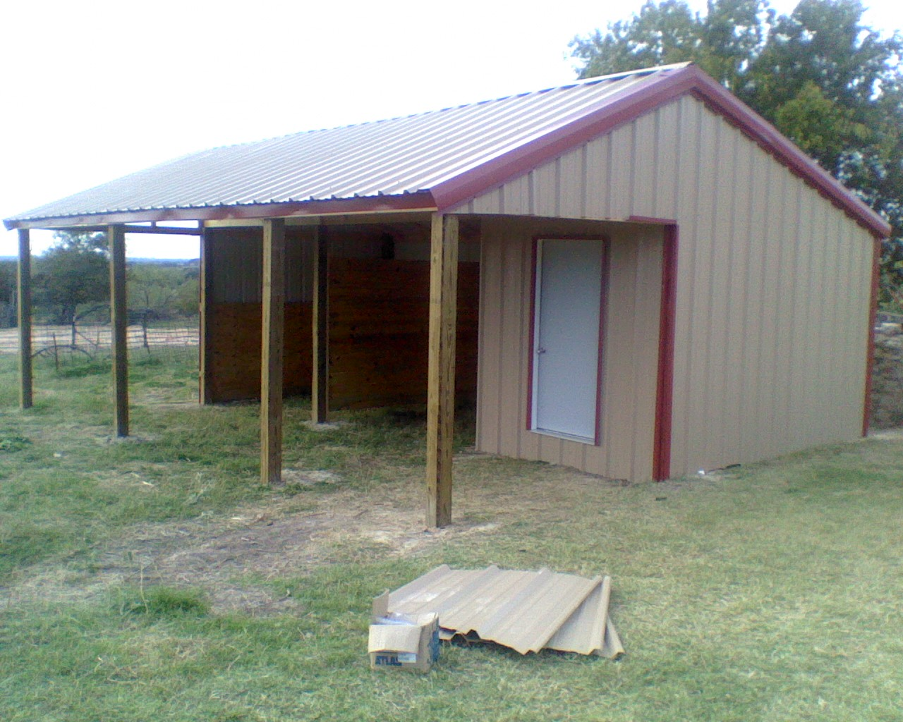 How To Build A Metal Loafing Shed Shed Plan Easy