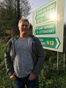 John in Ireland for ESPC