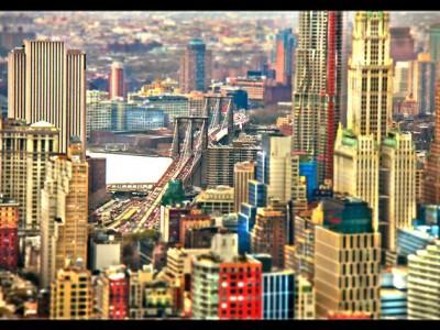 NEW YORK – Time Lapse – Tilt Shift – Scales by Fernando Livschitz