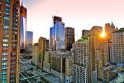 Morning at the World Trade Center