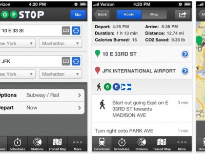 HopStop for iPhone – Best New York Subway Map App