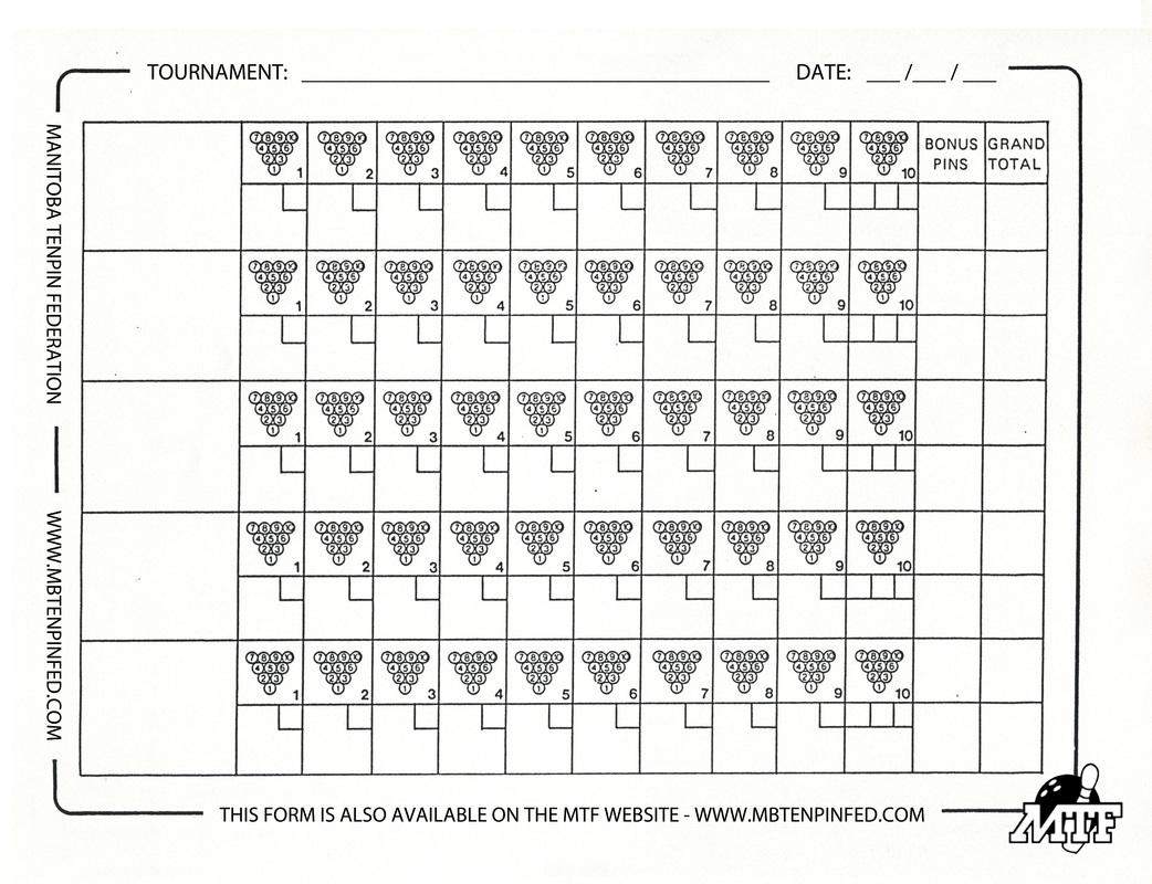 Bowl Out Score Sheet