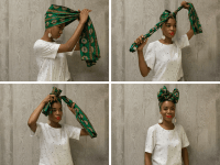 Head Wrap Styles and Head Scarves on Summer