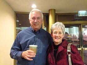 舊金山芭蕾舞劇院的會員彼得•麥肯泰爾和太太戴安娜•麥肯泰爾