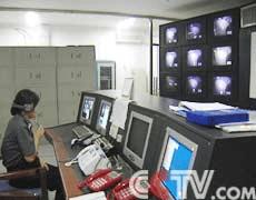 北京女子監獄監區監控室實圖