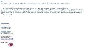 '丹麥國會議員、丹麥人民黨副主席索倫?艾斯普森議員給法輪功學員的支持信'