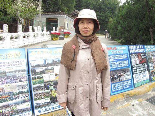 '杜蕙青遇台商眷屬對她說:我相信中共活摘器官是真的。'