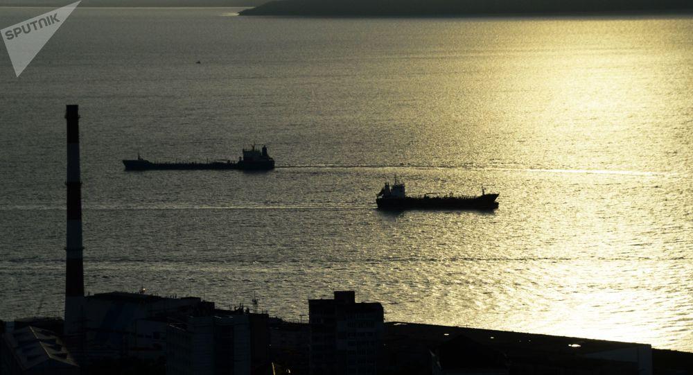 俄濱海邊疆區因氣旋受阻的海上客運恢復 - Sputnik 中國