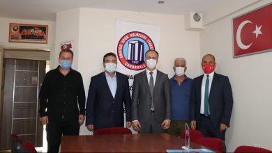 Photo of Ömer Kalkan, Amatör Spor Kulüpleri Federasyonunu Ziyaret Etti