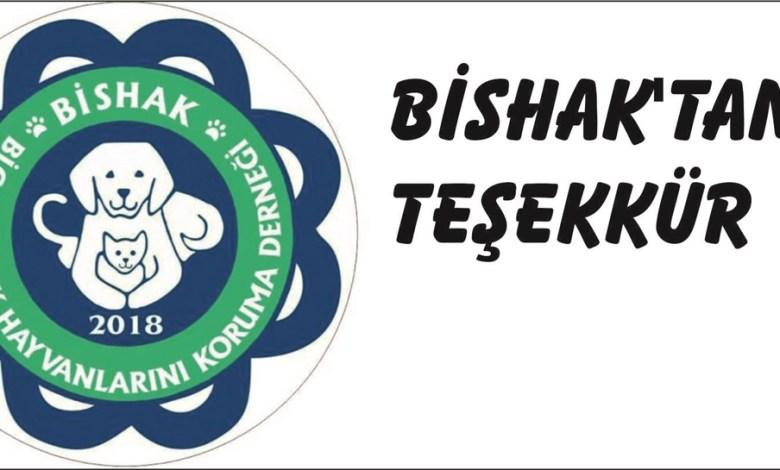 Photo of BİSHAK'tan Teşekkür