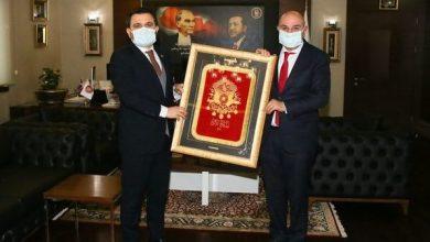 Photo of İsmail Kaşdemir Ankara'da Turgut Altınok'u Ziyaret Etti