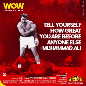 WOW SPORTS AND FITNESS GYM CREATIVES FOR SOCIAL MEDIA MARKETING OF GYM (March)