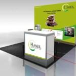 Haneil Soyatech Stall Design & Brochure Designing