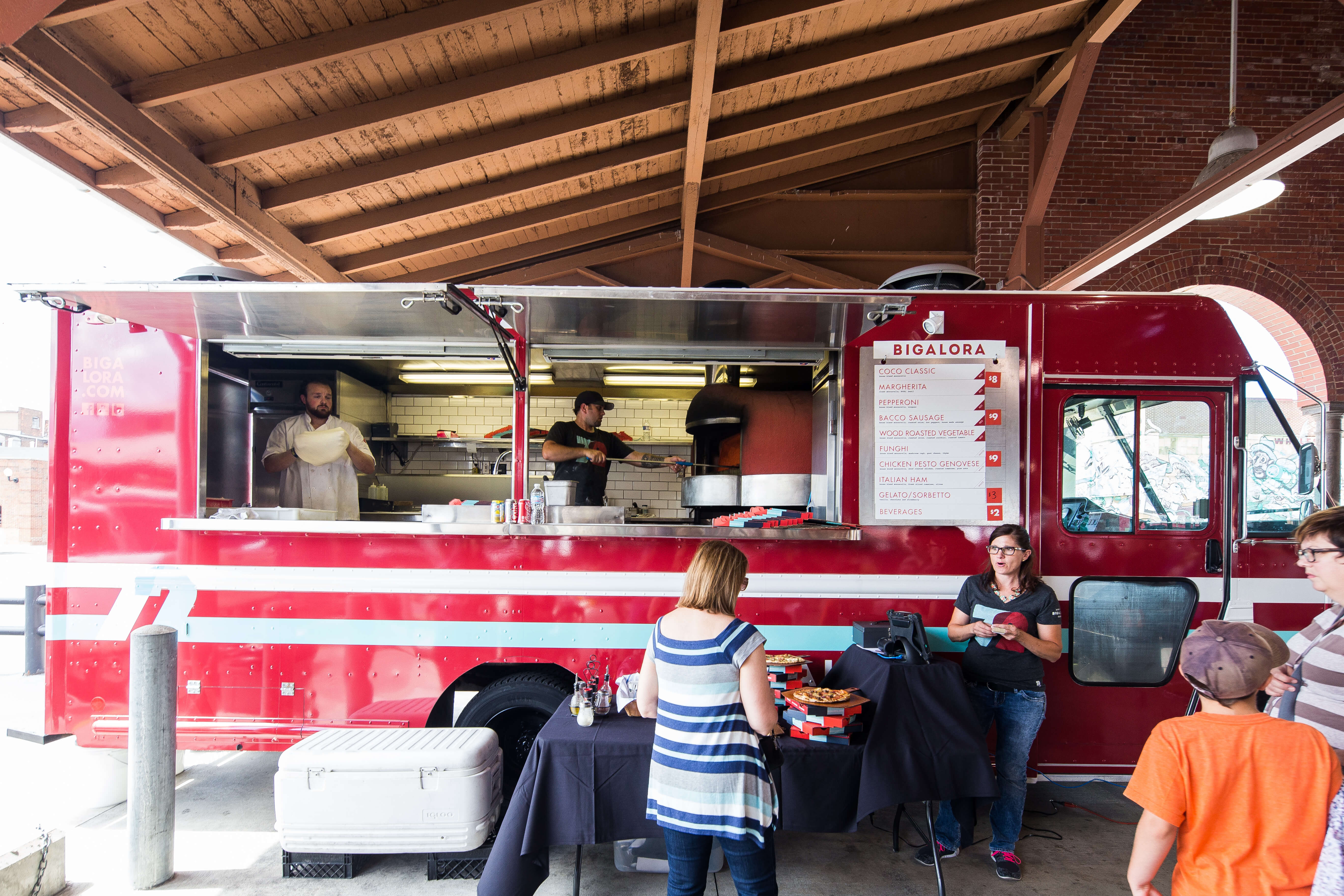 Food Truck  Bigalora Wood Fired Cucina