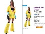 Sexy Ebola Nurse Halloween Costumes Go On Sell, Causing Tempers to Flare