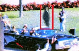 Newly released photograph clearly shows who appears to be Brian Williams serving as a witness to JFK's assassination.  Williams was on the Grassy Knoll on the day of tragedy and government spooks are trying to keep him silenced.