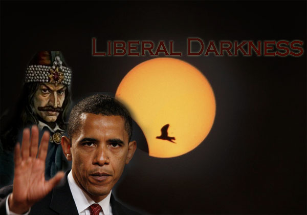 solar eclipse liberal darkness