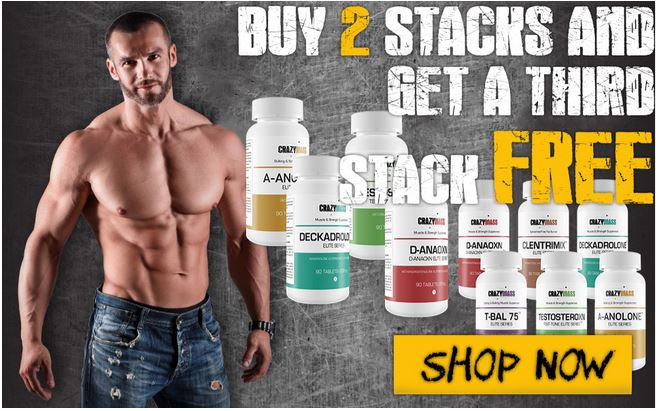 Bulk Supplements Stack from Crazy Mass