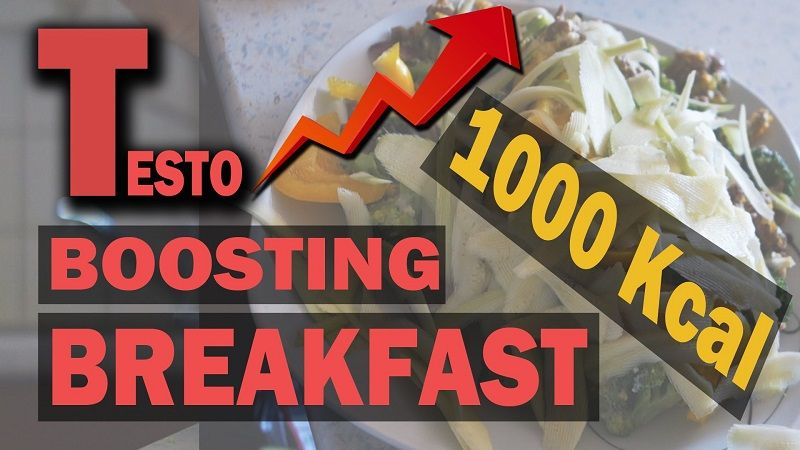 The Best Testosterone Boosting Breakfasts for Anabolic Men | Top 3 List!