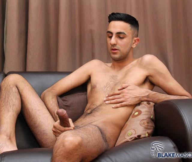 Amateur Skinny Young Hairy Arab Jerks His Hung Arab Cock