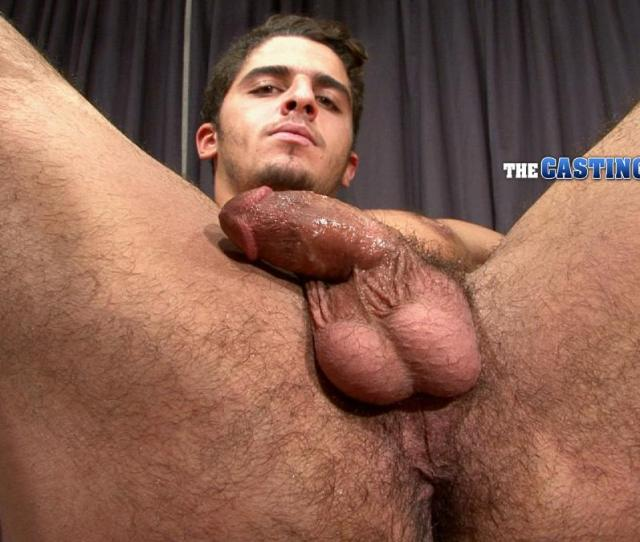 Straight Arab Auditions For Porn And Jerks His Hairy Cock