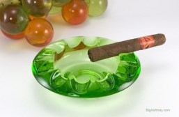 Mid-Century Art Glass Ashtray by Rosice