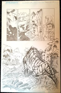 Frank Cho's Jungle Girl v2 #1 – Page 11 – Original Art by Adriano Batista!