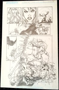 Frank Cho's Jungle Girl v2 #4 - Page 3 - Original Art by Adriano Batista!