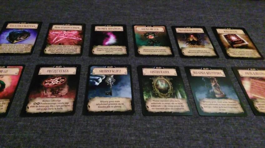 12 kart reliktów.