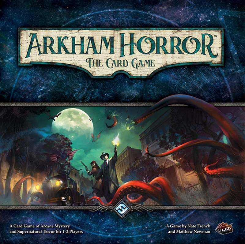 Horror w Arkham LCG - typowa gra Ameritrash
