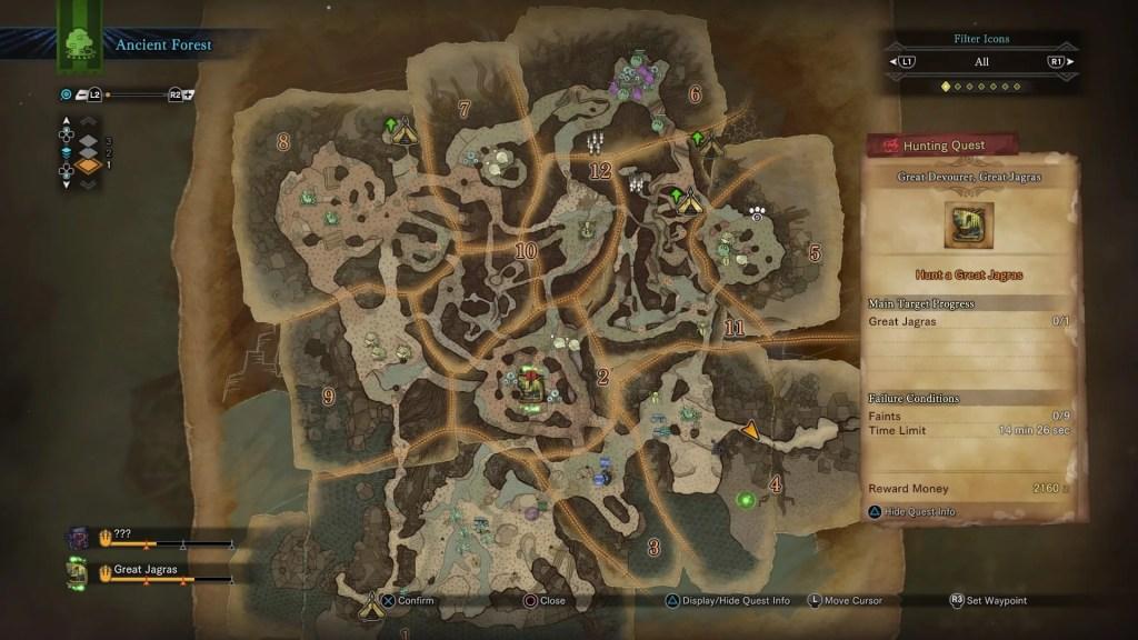 Druga z dostępnych map.