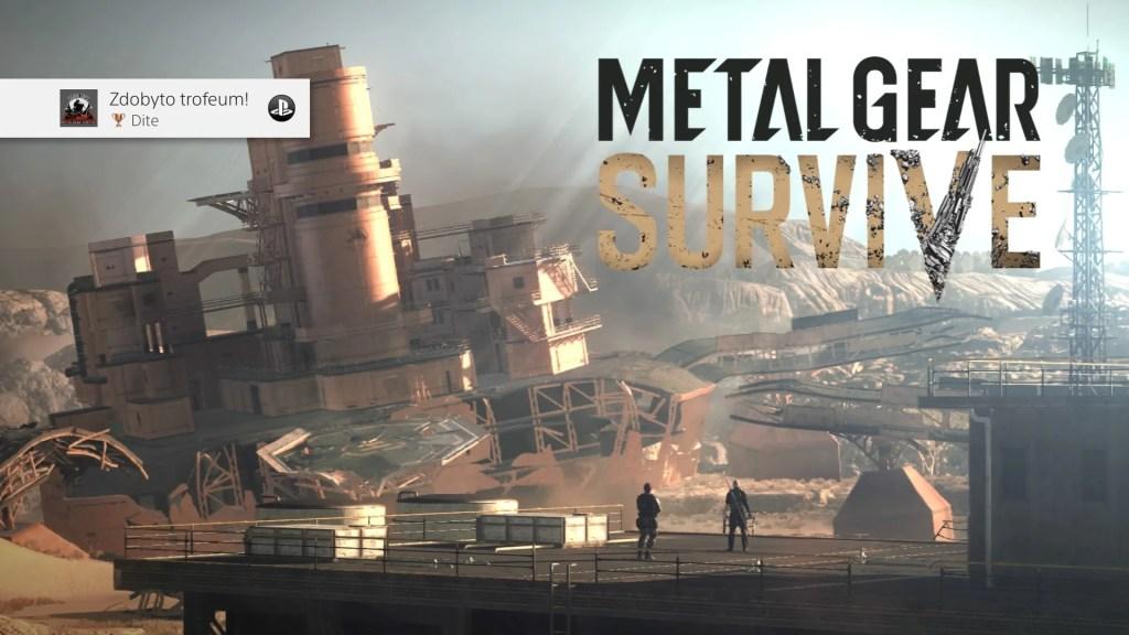Metal Gear Survive. Witamy w nowym domu.