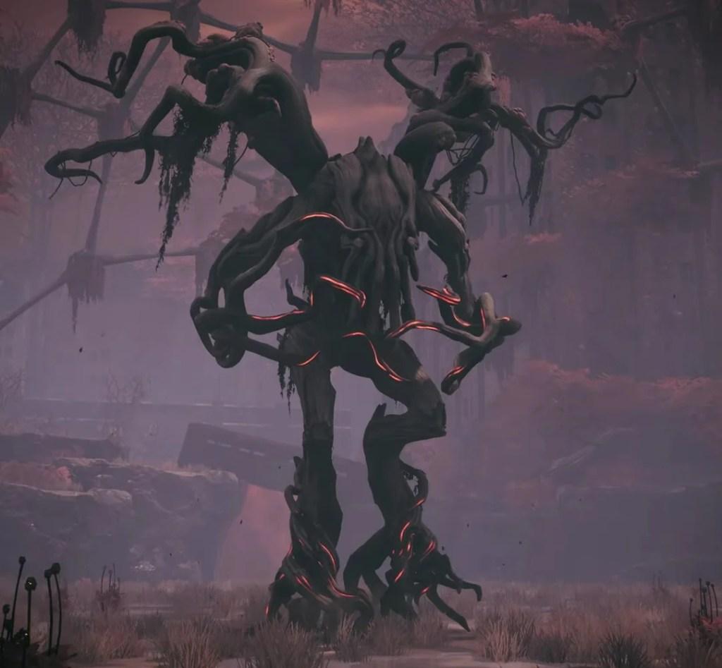 The Ent jeden z głownych bossów dostępnych w grze na mapie Ziemia.