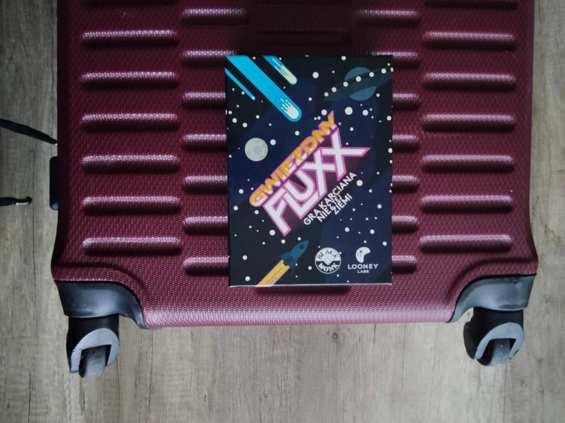 gry planszowe na wakacje gwiezdny fluxx