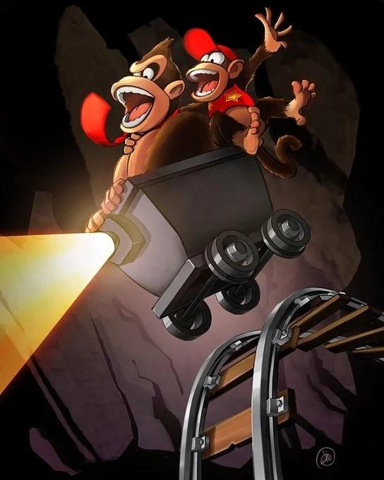Donkey Kong Diddy Kong