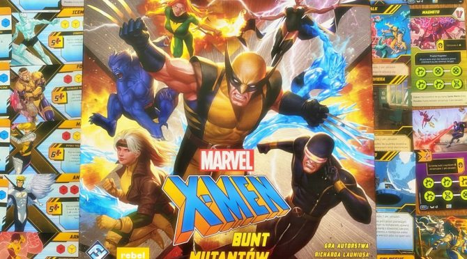 X-men Bunt Mutantów Okładka
