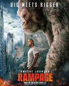 Rampage PG-13 2018