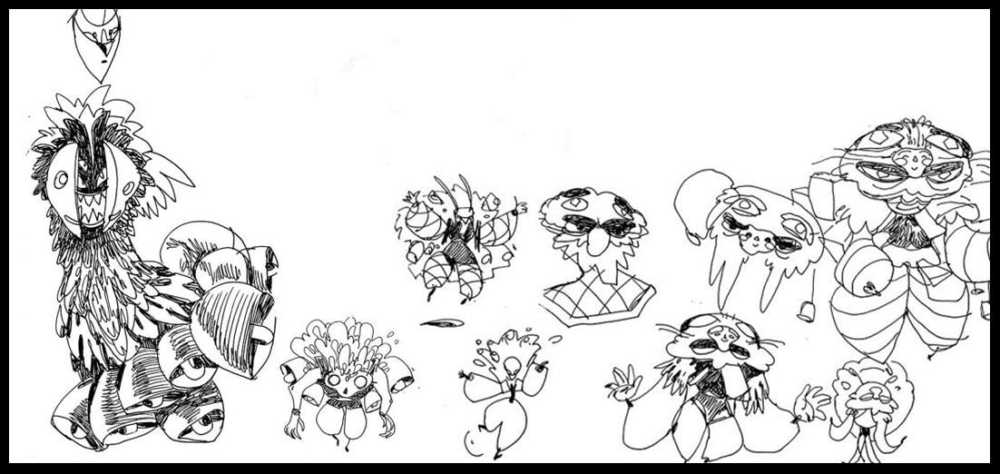 CreativeBlog: Generating New Ideas for Character Designs